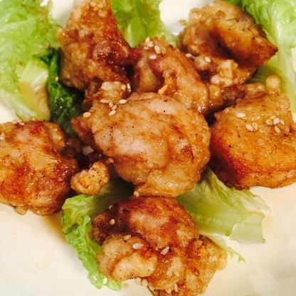 甘辛タレが最高に美味しいですね!簡単なレシピでリピしたいと思います!