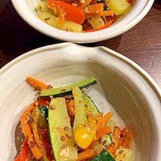 野菜のデュカ炒め