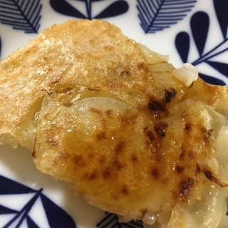 キャベツと玉ねぎのチヂミ