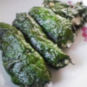 アジの大葉醤油焼き