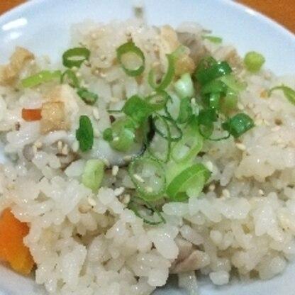 おこげの追い炊き、初めて知りました。しっかり味がしみてて美味しかったです(*^^*)♪