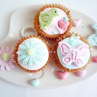 マシュマロフォンダンケーキ
