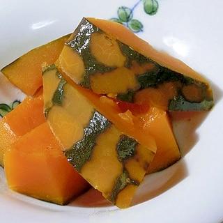 炊飯器で簡単。南瓜の煮物