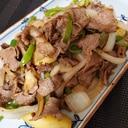 牛肉と玉ねぎのガーリックペッパー炒め