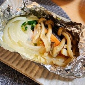 簡単!フライパンで作る鮭のホイル焼き☆