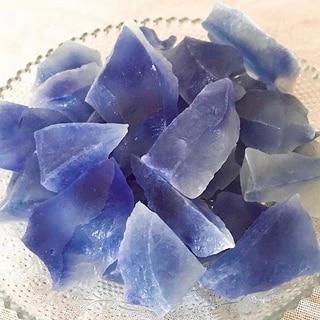 食べる宝石‼️サファイア琥珀糖‼️