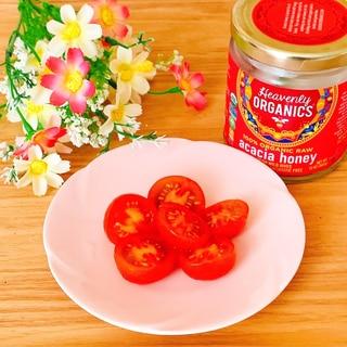 トマトサラダ☆ハニーマリネ•.¸¸¸.☆