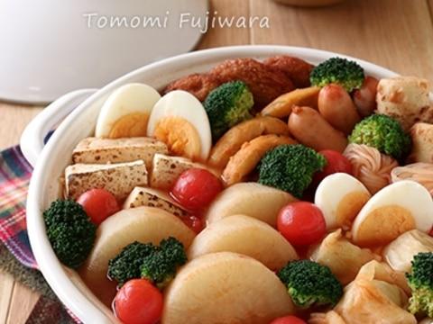 【冷凍大根で時短!】洋風トマトおでん