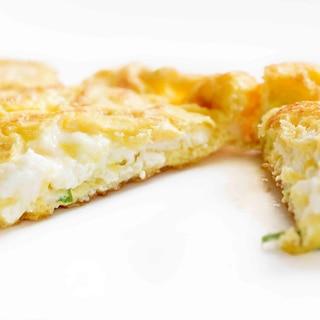 カッテージチーズのオムレツ