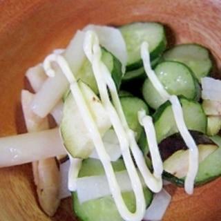 胡瓜と茄子大根のにがり漬け