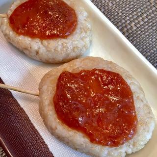 蜂蜜味噌のタレが美味しい♡玄米の五平餅♡