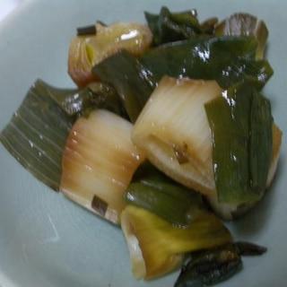 深谷葱のとろとろ煮