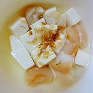 豆腐と麩のすまし汁(離乳食後期)