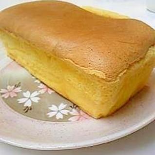 卵、小麦粉、砂糖。3つだけで出来るスポンジケーキ