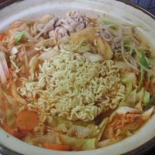辛ラーメン鍋