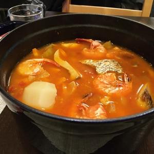 家にある材料で!ブイヤベース鍋♬コトコト煮込も♬