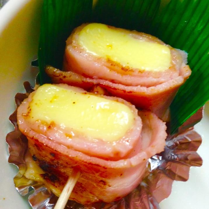 お弁当に☆味付けいらずのベーコンチーズ☆