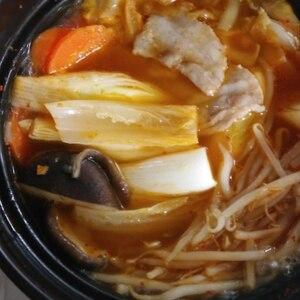 辛旨っ♫豚キムチ鍋