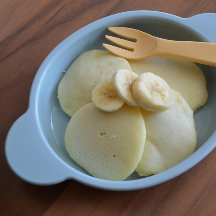 離乳食後期「バナナパンケーキ」