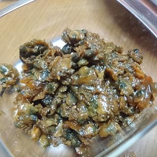 生姜入りのしじみの佃煮