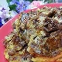 チョコマフィンでふわふわフレンチトースト