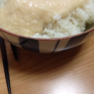 自然薯で(*^^*)シンプル♪シンプル♪とろろご飯