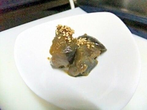 色々使える簡単作り置き・ナスの甘味噌炒め