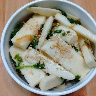 長芋と大葉の酢和え
