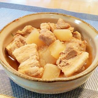 ♪圧力鍋で♡やさしい味の豚バラ大根♪