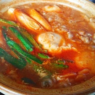 【一人鍋】納豆スンドゥブ