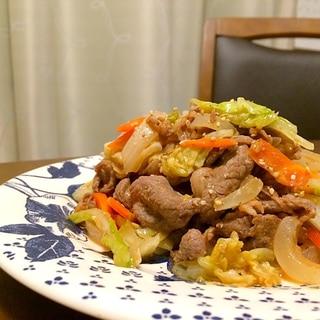 トマ味噌とお好みソースで 簡単美味しいジンギスカン