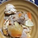 豚薄切り肉と大根のオイスター炒め