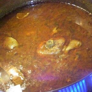 基本のインドチキンカレー