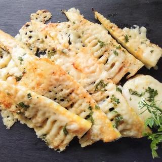 タケノコのチーズ焼き