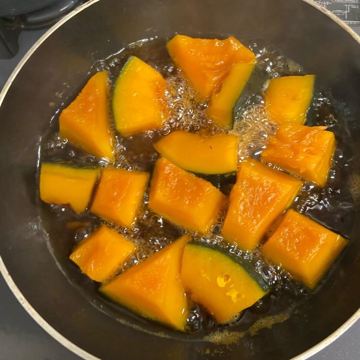 黄金比率!かぼちゃの煮物!