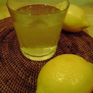 ビタミンCたっぷり 簡単ホットレモネード