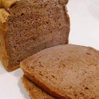 ホームベーカリーでココア食パン