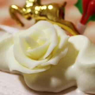ケーキの飾り*プラチョコ的なもの