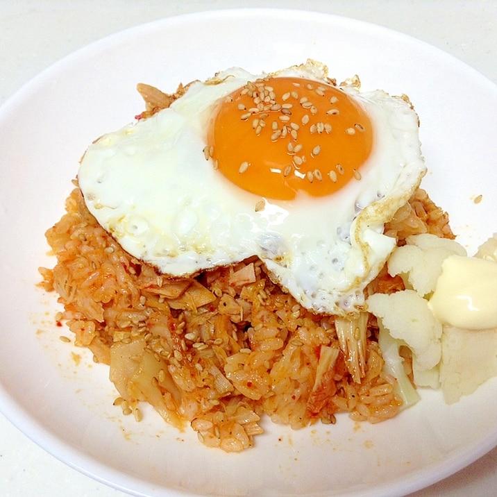 韓国 ツナキムチ炒飯 チャムチキムチポックンバプ