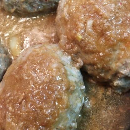 久々の焼肉のタレのハンバーグソース^_^今回はおからパウダー入りのハンバーグ♪美味しかったです!