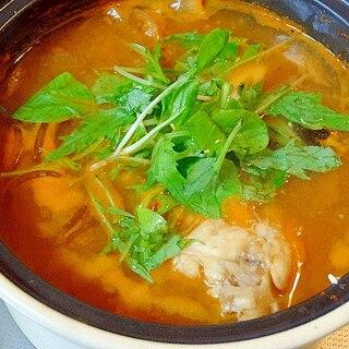 アラは出汁が旨い☆ 「フグの天醤鍋」