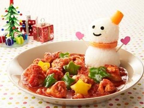 クリスマスの鶏肉のトマト煮
