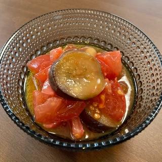 【箸がとまらない♡】焼き茄子とトマトのマリネ