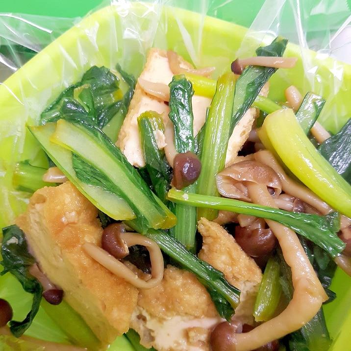 人気 小松菜 レシピ 厚 揚げ