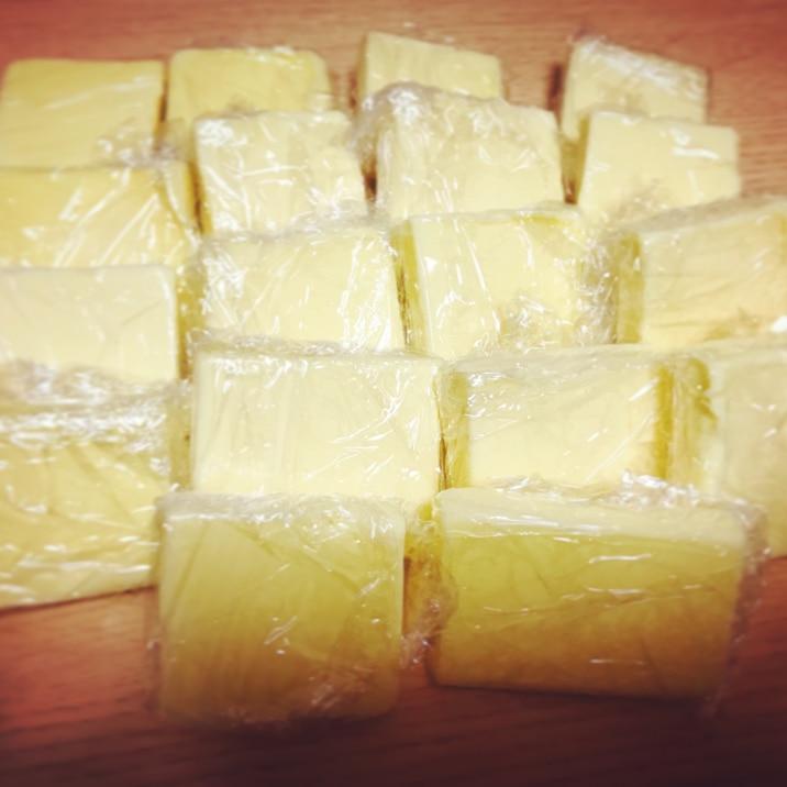 楽ちん!バター冷凍保存