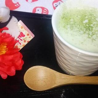 抹茶香る冷製スープ☆ビシソワーズ