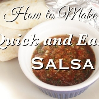 基本のトマト サルサ ソースの作り方