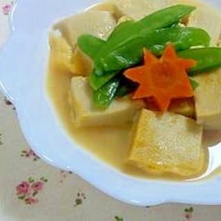 レンジde高野豆腐♪