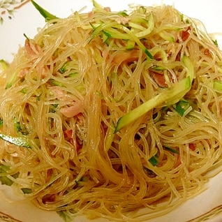 ダイエットに最適!中華風春雨サラダ