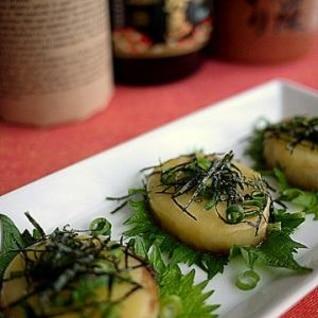 めんつゆで簡単おつまみ!長芋の和風チーズ焼き